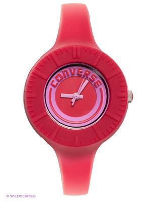 Часы Converse. Цвет: малиновый