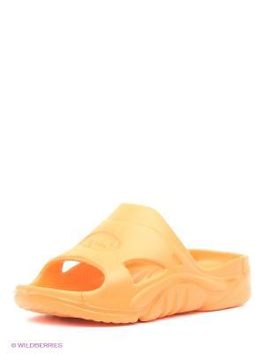 Шлепанцы Дюна. Цвет: оранжевый, желтый