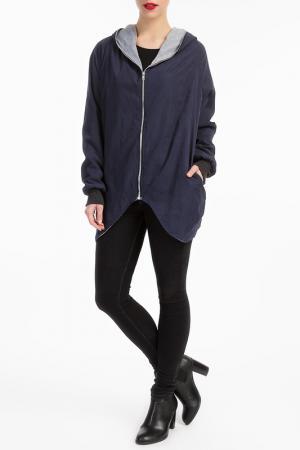 Куртка LESARA. Цвет: серый