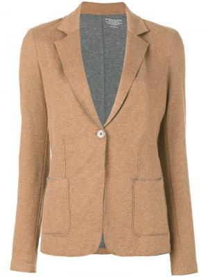 Classic blazer Majestic Filatures. Цвет: коричневый