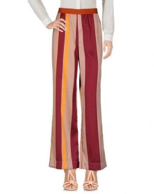 Повседневные брюки DEVOTION. Цвет: телесный