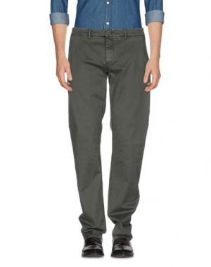 Повседневные брюки HAMPTONS. Цвет: темно-зеленый