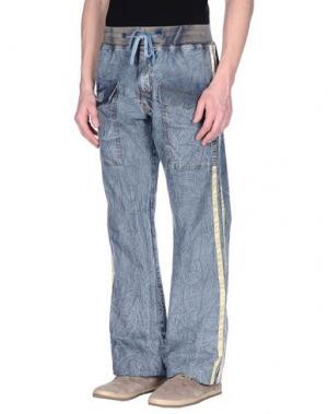 Джинсовые брюки PARASUCO CULT. Цвет: серый