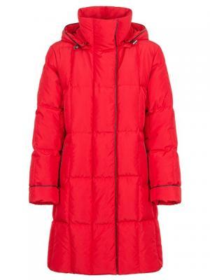 Пальто HAGENSON. Цвет: красный