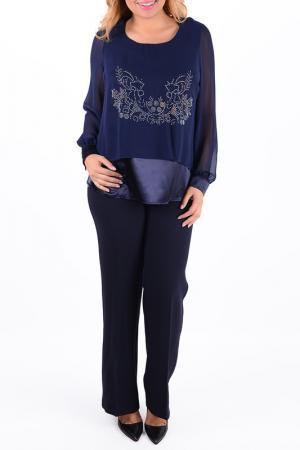Блузка Ardatex. Цвет: blue