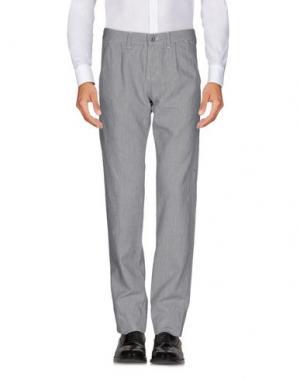 Повседневные брюки TAKE-TWO. Цвет: серый