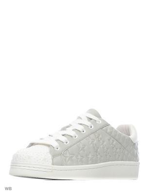 Кеды ASH. Цвет: белый, серый