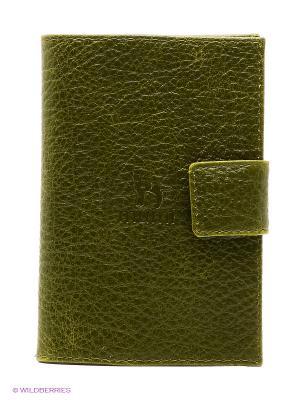 Обложка для паспорта Dimanche. Цвет: зеленый