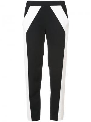 Классические спортивные брюки Sally Lapointe. Цвет: чёрный