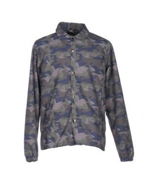 Куртка LES (ART)ISTS. Цвет: зеленый-милитари