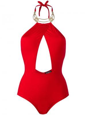 Alyssa swimsuit Moeva. Цвет: красный