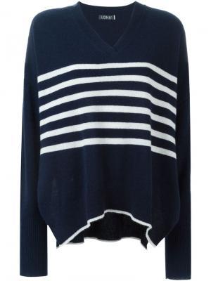 Полосатый свитер Magda Loma. Цвет: синий