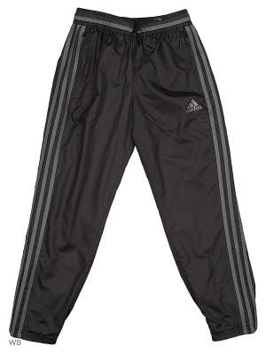 Трикотажные брюки дет. спорт. CON16 WD PNT Y  BLACK/VISGRE Adidas. Цвет: черный
