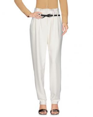 Повседневные брюки MILLY. Цвет: белый