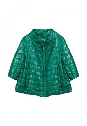 Куртка GALLOTTI. Цвет: зеленый