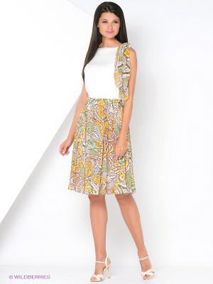 Комплект одежды Kristina. Цвет: молочный