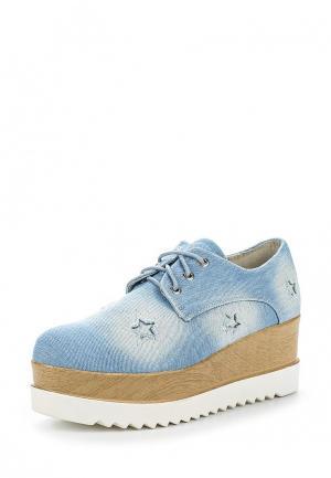 Ботинки La Bottine Souriante. Цвет: голубой