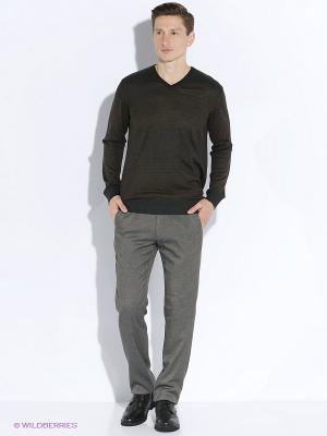 Пуловер Vargas. Цвет: темно-коричневый