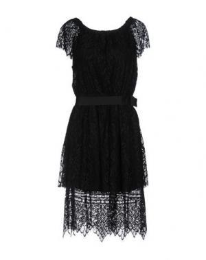 Платье до колена GIORGIA & JOHNS. Цвет: черный