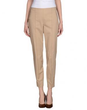 Повседневные брюки BEATRICE. Цвет: бежевый