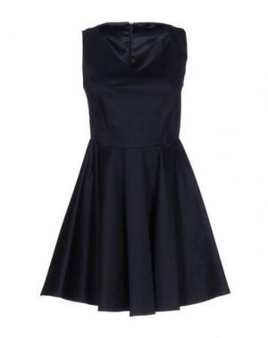 Короткое платье G.SEL. Цвет: темно-синий