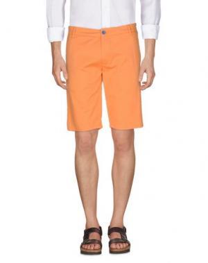 Бермуды DIMATTIA. Цвет: оранжевый
