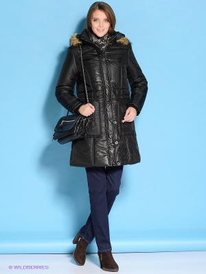 Пальто Mystic. Цвет: черный
