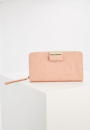 Кошелек Cavalli Class. Цвет: розовый