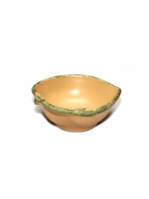 Блюдо Elff Ceramics. Цвет: бежевый