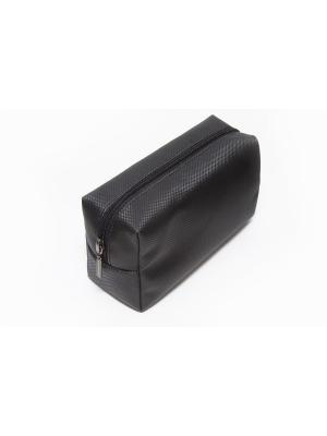 Косметичка-несессер Norton (200х75х110мм) (черный карбон) Norton.. Цвет: черный