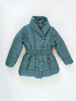 Куртка для девочки La Pastel. Цвет: зеленый