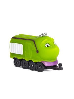 Chuggington паровозик в блистере Коко. Цвет: салатовый