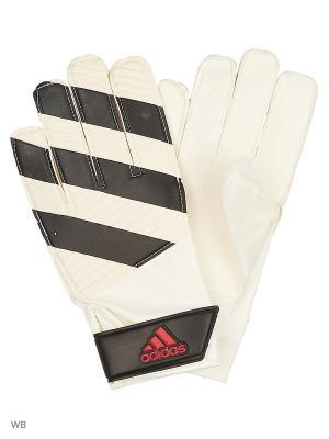 Перчатки CLASSIC LITE  WHITE/BLACK/SOLRED Adidas. Цвет: черный, белый