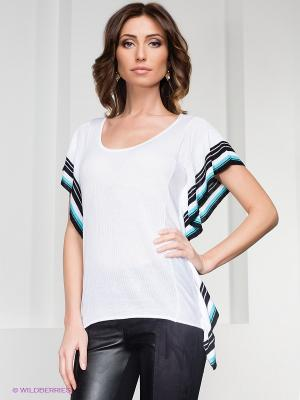 Блузка O De Mai. Цвет: белый