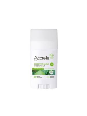 Acorelle дезодорант-бальзам лимон & зелёный мандарин (40 г). Цвет: белый