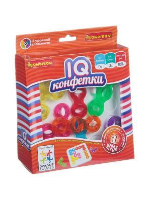 Логическая игра BONDIBON IQ-Конфетки, арт. SG 485 RU.. Цвет: красный