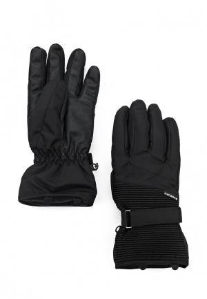 Перчатки горнолыжные Icepeak. Цвет: черный