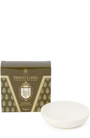 Мыло для бритья Luxury (запасной блок деревянной чаши) Truefitt&Hill. Цвет: бесцветный