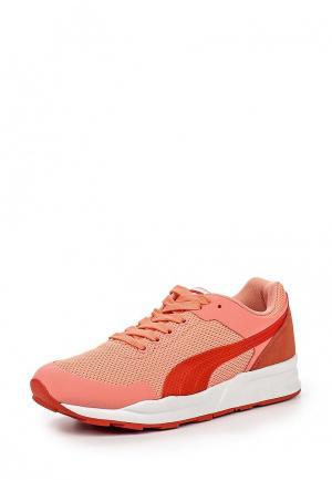 Кроссовки Puma. Цвет: коралловый