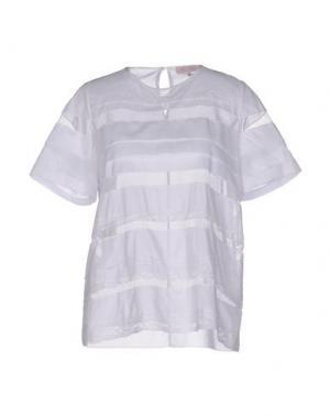 Блузка DICE KAYEK. Цвет: белый