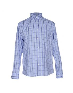Pубашка FAÇONNABLE. Цвет: небесно-голубой