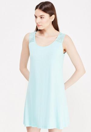 Сорочка ночная Vis-a-Vis. Цвет: голубой