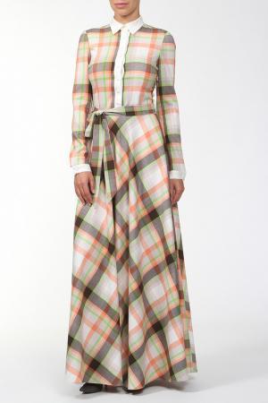 Платье XARIZMAS. Цвет: бежевый