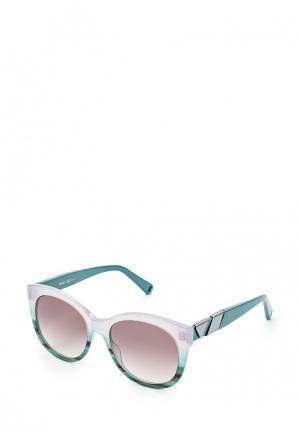 Очки солнцезащитные Max&Co. Цвет: зеленый