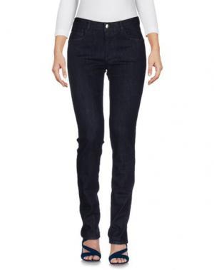 Джинсовые брюки BLUE LES COPAINS. Цвет: синий