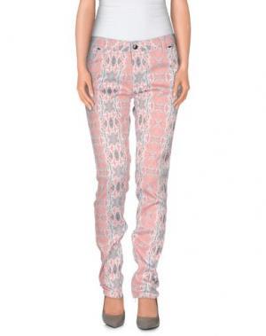 Повседневные брюки TOM REBL. Цвет: розовый