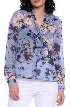 Блуза Emma Monti. Цвет: floral print
