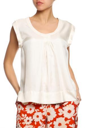 Блуза SEVENTY. Цвет: бежевый