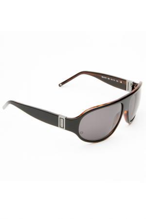 Солнцезащитные очки Montblanc. Цвет: коричневый