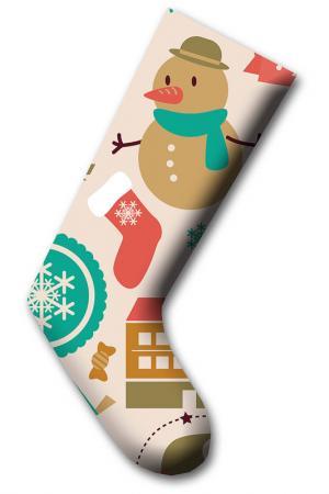 Рождественский носок CHRISTMAS - DECORATION. Цвет: multicolor